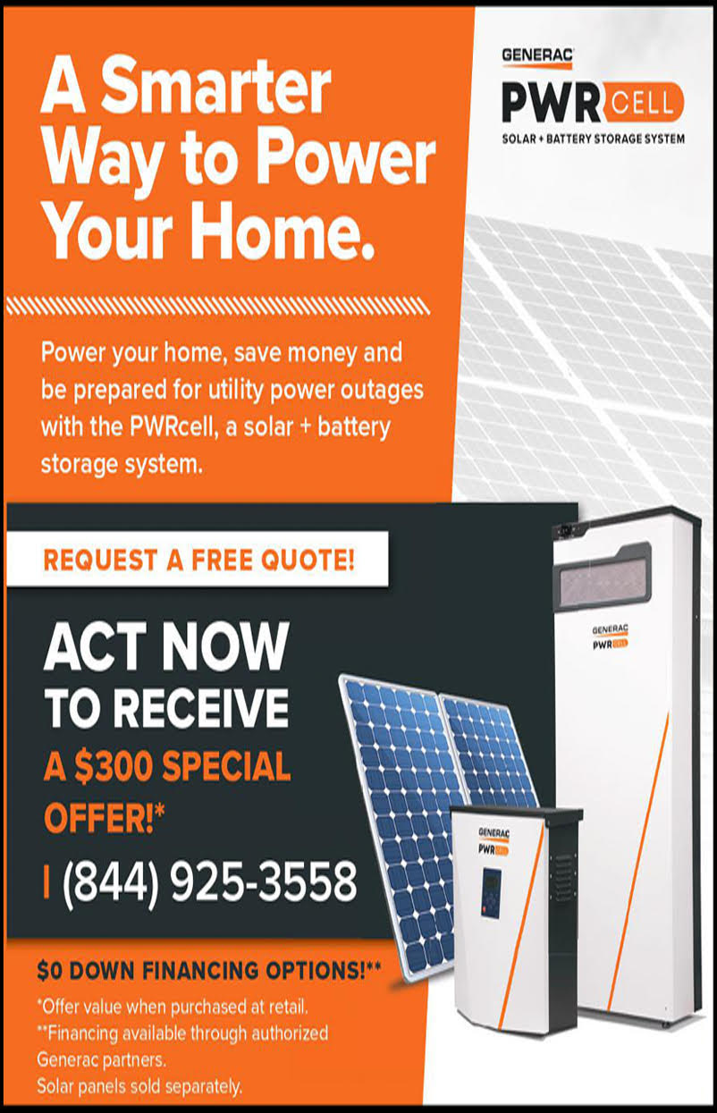 Generac Power cell ad