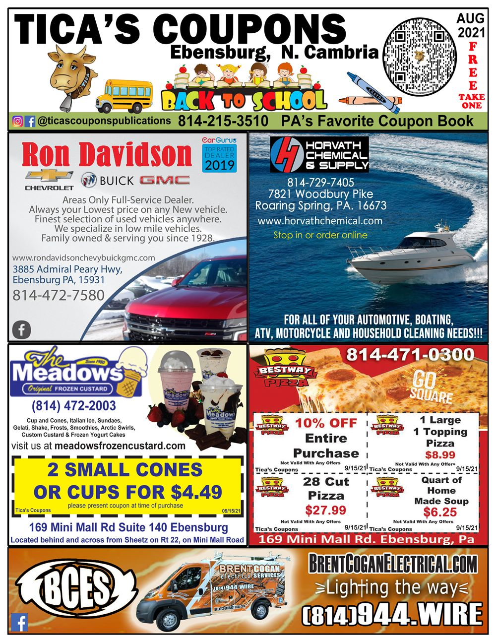 Ebensburg front cover Aug 2021